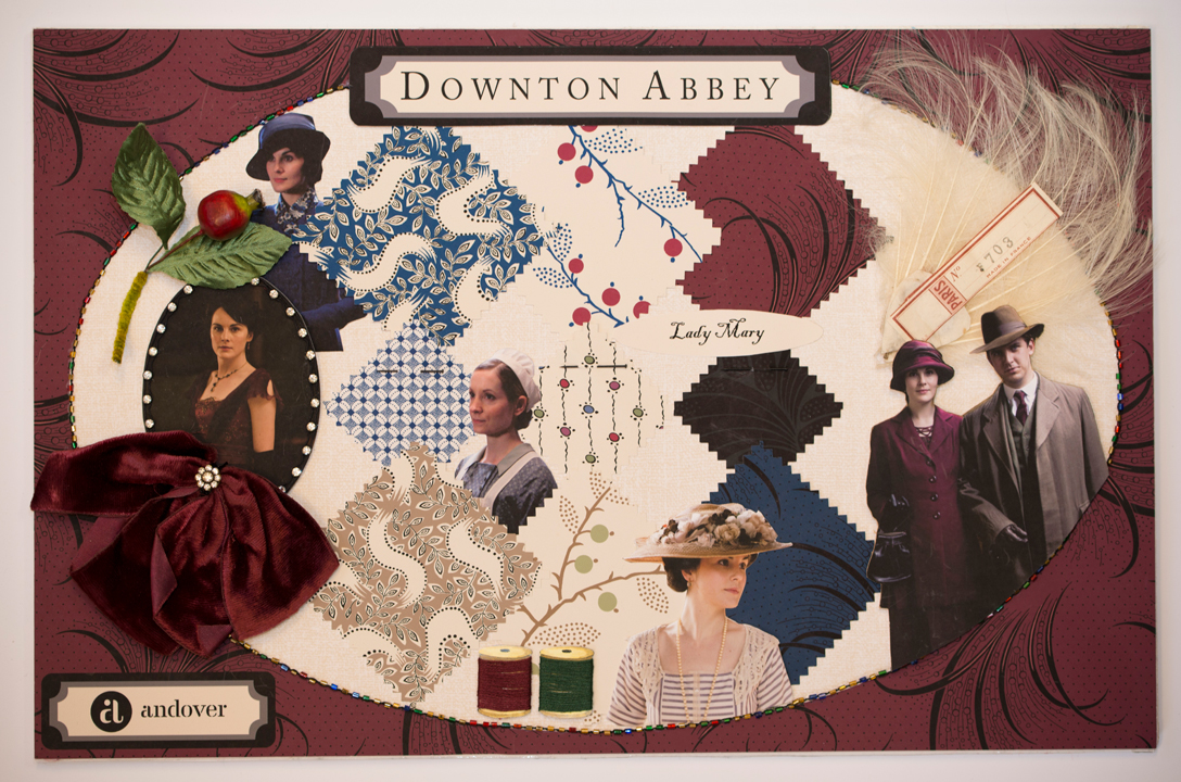 Downton Mood Boards Mary Quiltmaker + Downton Abbey + Andover = Fabulous!