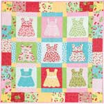 Dressed to the Nines FREE Baby Quilt Pattern