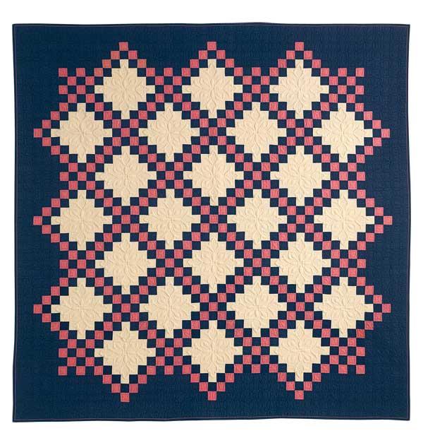 Dublin Dreams: Quick 2-Block Irish Chain Bed Quilt Pattern