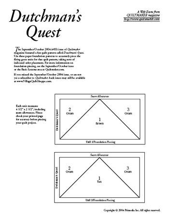 Dutchman's Quest Foundations