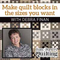 Learn to Resize Quilt Blocks