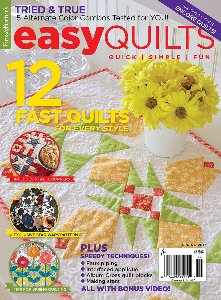 Easy Quilts Spring 2017