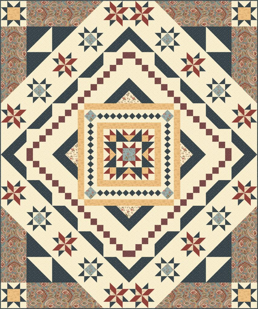 The Best Block Of The Month Quilts Of 2017 - The Quilting Company : block of the month quilt - Adamdwight.com