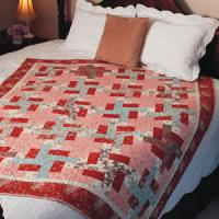 Quarter Logs - Free Log Cabin Quilt Pattern - The Quilting Company : easy log cabin quilt - Adamdwight.com