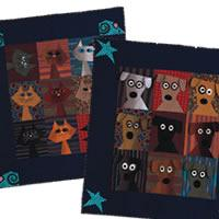Dog Daze & Feline Frenzy Free Quilt Pattern