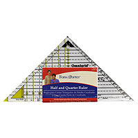 Half and Quarter Ruler