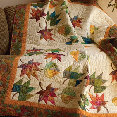 Falling Leaves - Favorite Quilts for Fall and Halloween