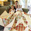 Family Tradition: Heirloom Vintage Quilt Pattern Remake
