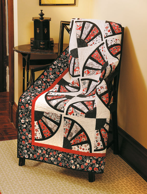 fan dance quilt fons porter the quilting company