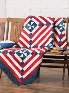 Patriotic Fat Quarter Quilt Pattern