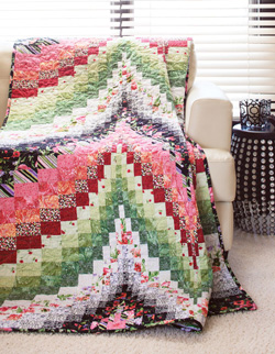 Fire & Ice Quick and Easy Quilt Project - The Quilting Company : fast and easy quilts - Adamdwight.com