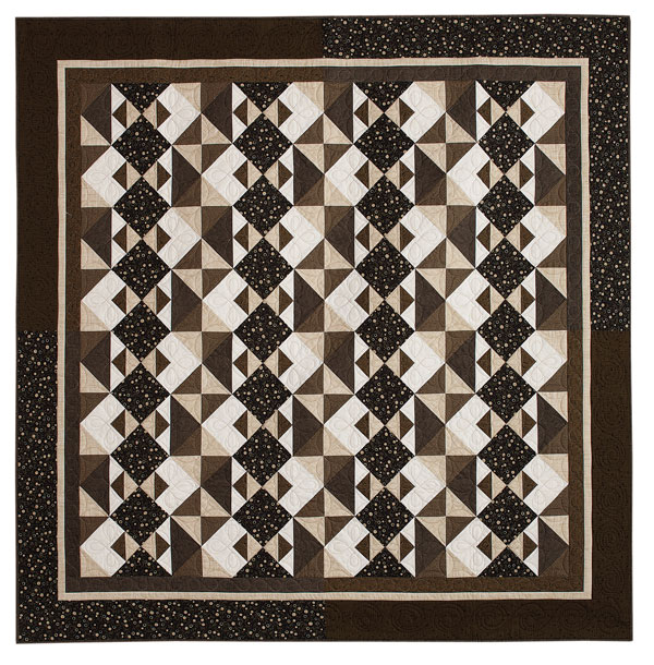 Chiaroscuro - Two-Color Quilts