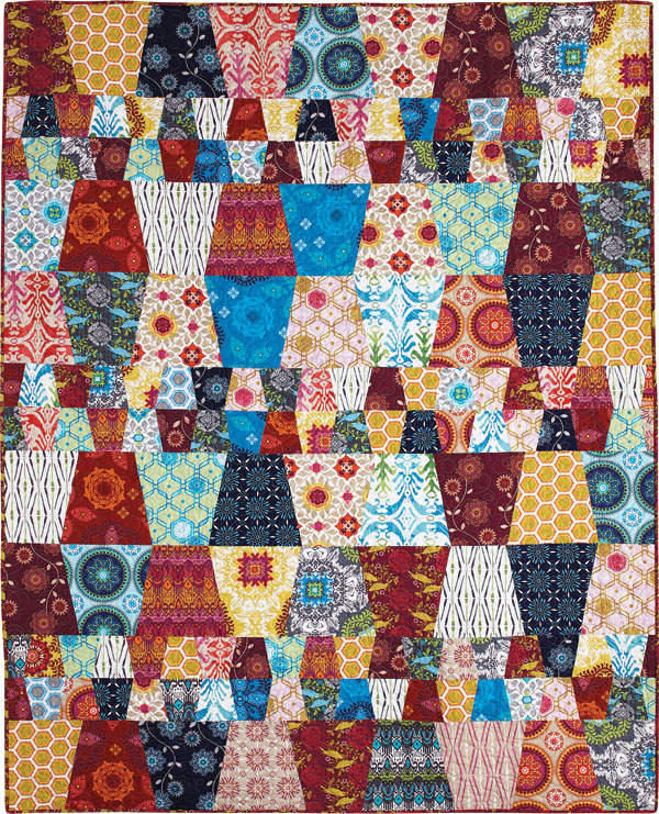 BLOCK Friday: Tumbler Quilts - Fons & Porter - The Quilting Company : old fashioned quilt patterns free - Adamdwight.com