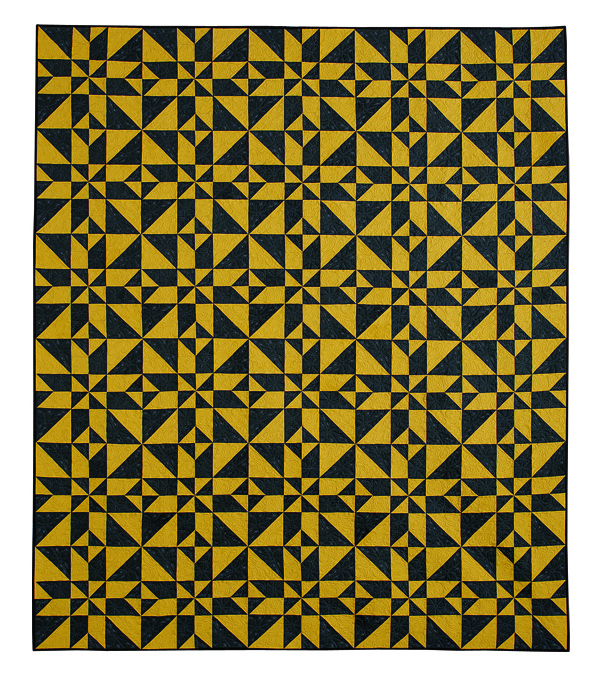 Two-Toned Illusions - Two-Color Quilts