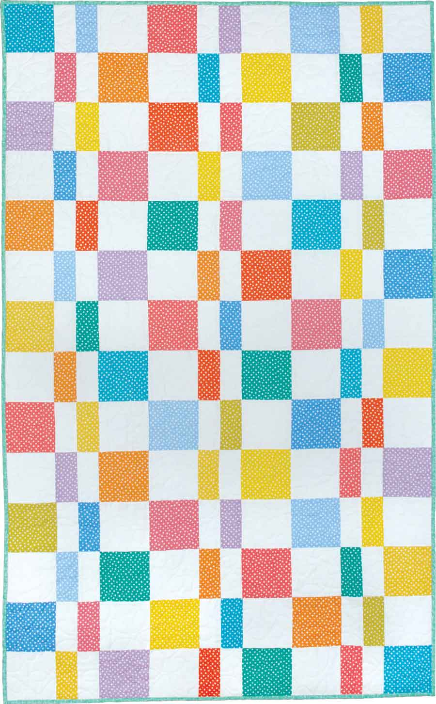 Confetti Candy - Kid and Baby Quilt Patterns