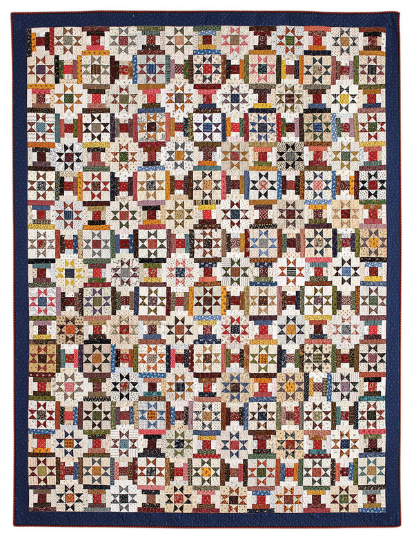 Courthouse Stars - Fat Quarter Quilt Patterns