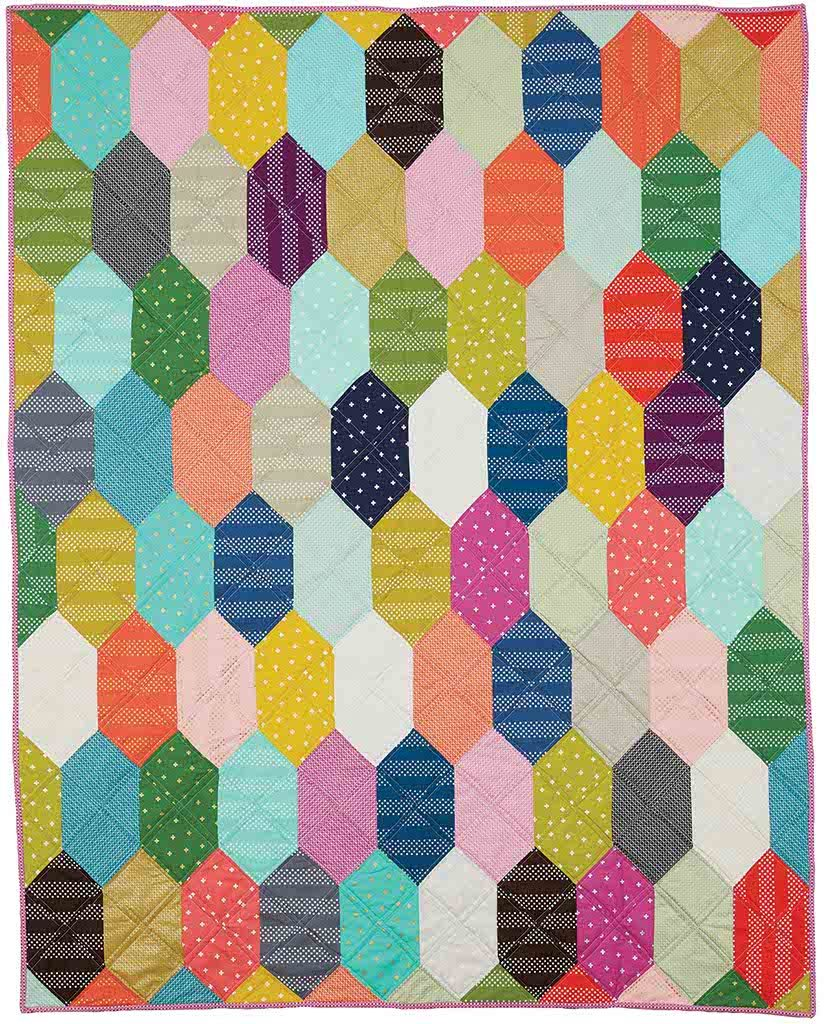 Facets - Modern quilt patterns for beginners