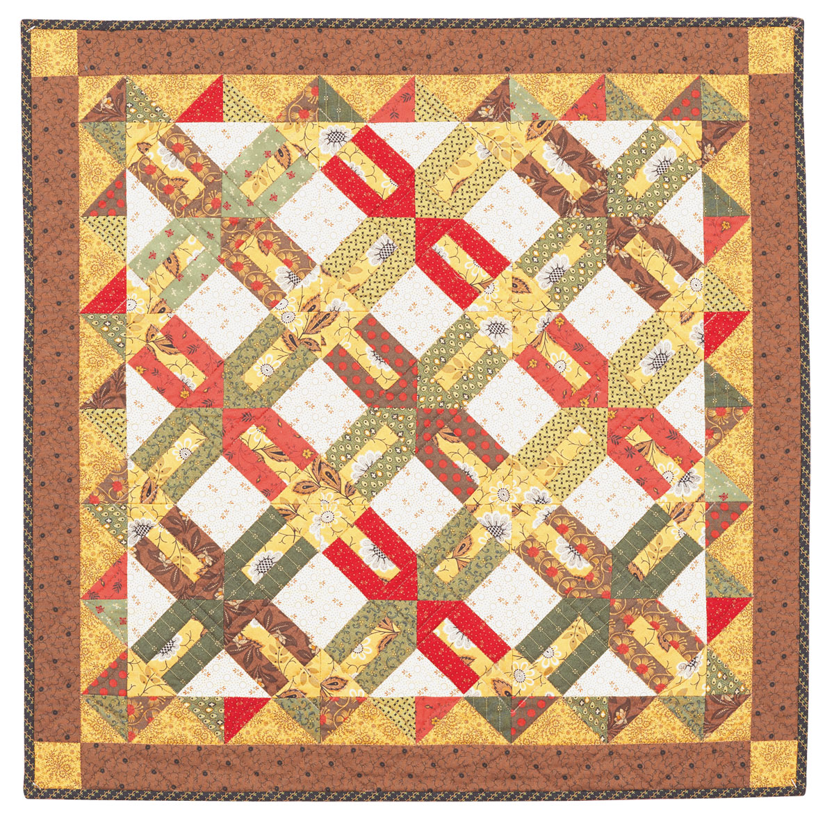 Gold Rush Quilt - Fons & Porter - The Quilting Company