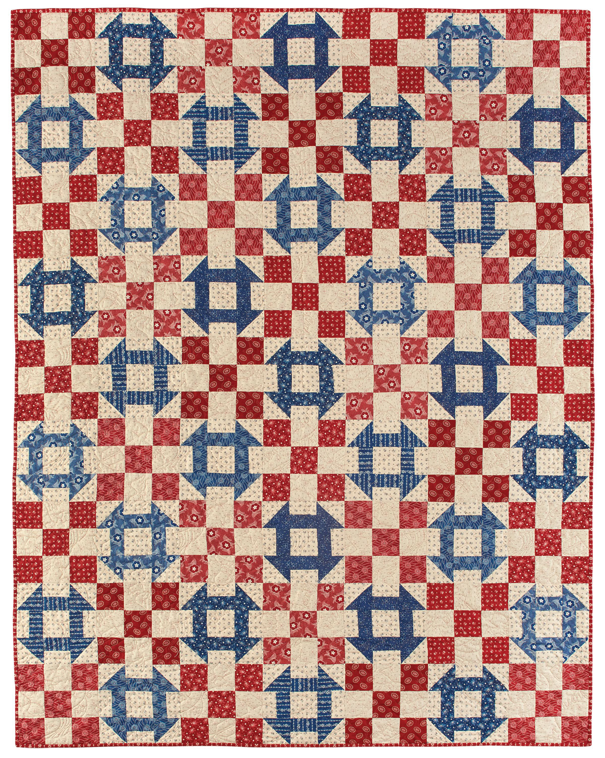 Quilting Patterns And Notions : House Divided Quilt - Fons & Porter - The Quilting Company