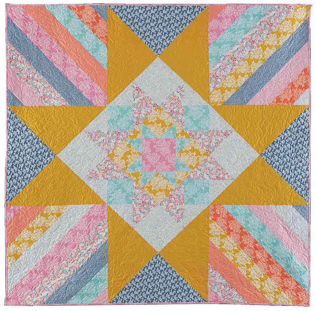 Ice Cream Supreme - Modern quilt patterns for beginners