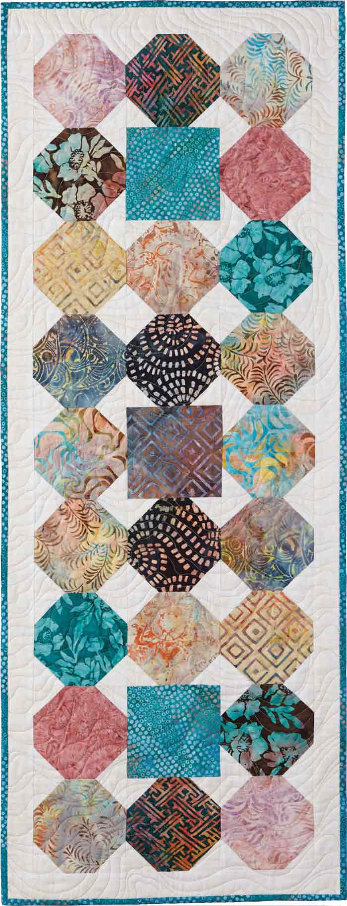 Quilting Patterns And Notions : Square Peg Round Hole Quilt - Fons & Porter - The Quilting Company
