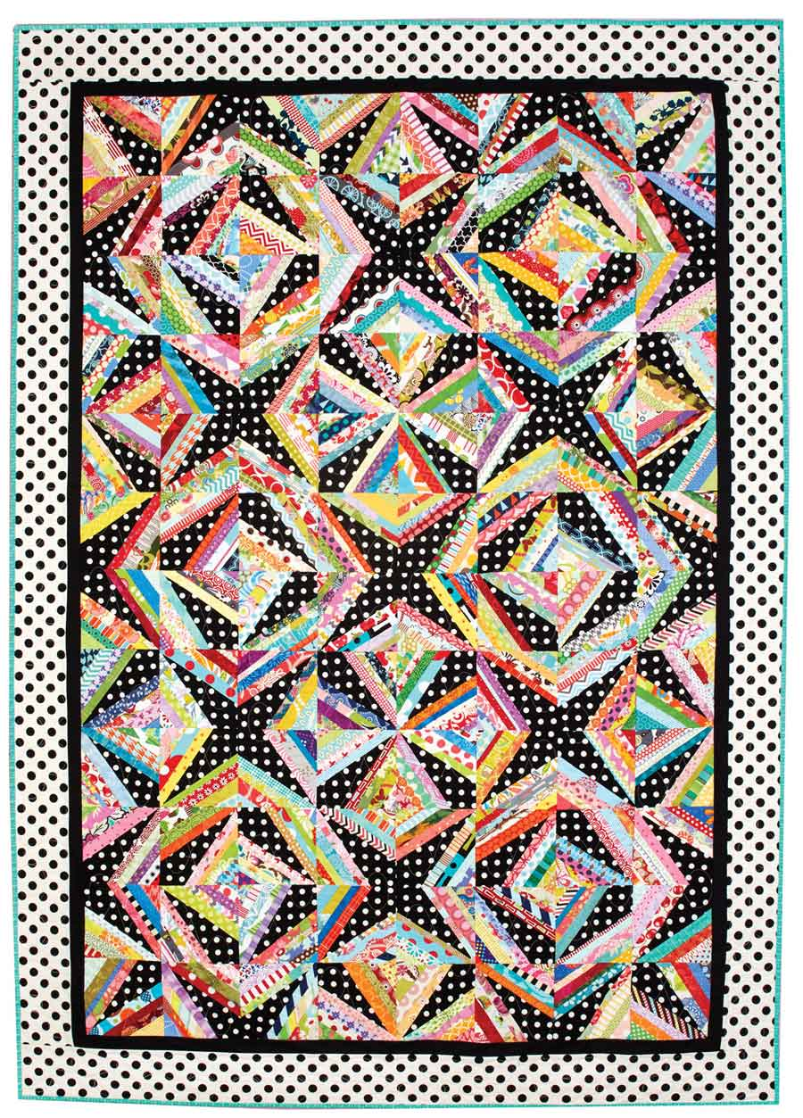 String Me Along Quilt - Fons & Porter - The Quilting Company : fons and porter quilt patterns - Adamdwight.com
