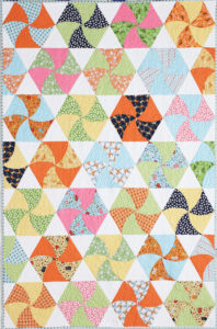 Twisted Triangles - Fat Quarter Quilt Patterns