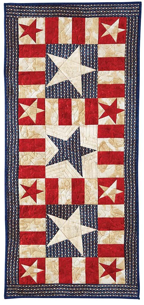 BLOCK Friday: Patriotic Quilts - Fons & Porter - The Quilting Company : patriotic quilt kits - Adamdwight.com