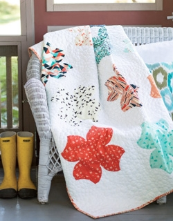 Floating Breeze Blossom Quilt