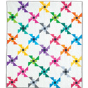 Flying Colors FREE Baby Quilt Pattern