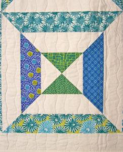 Four X Squared Quilt - Quilting Design