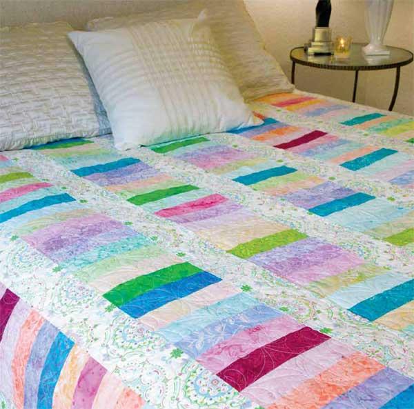Gelato600px Friday Free Quilt Patterns: Gelato