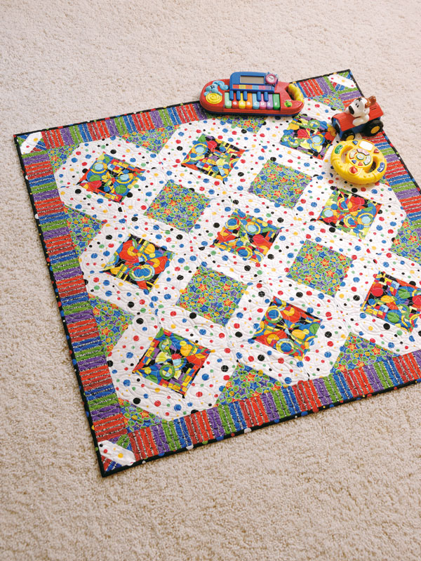 Free Crib Quilt Pattern: Baby Genius Synapse - The Quilting Company : quilt patterns free download - Adamdwight.com