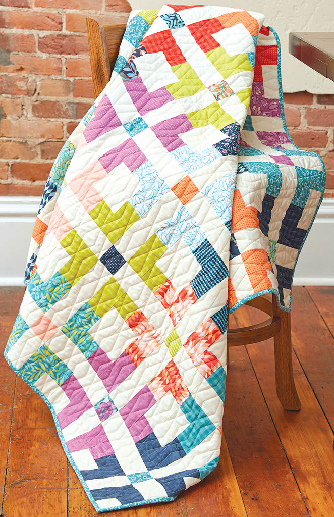 Geo Grid Quilt Fons Amp Porter The Quilting Company