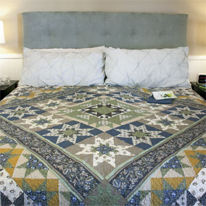 Glorieta: Classic Series Bed Quilt Pattern Part 1 of 3 - The ... : bed quilt patterns - Adamdwight.com