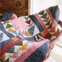 Gosling-Go-Round: Scrappy Traditional Flying Geese Quilt Pattern