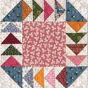 Gosling-Go-Round: FREE Flying Geese Quilt Block Pattern