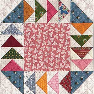 Gosling-Go-Round: FREE Flying Geese Quilt Block Pattern - The ... : quilt flying geese - Adamdwight.com