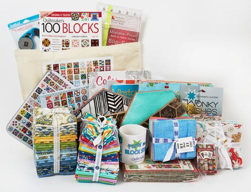 Grand Prize bundle Quiltmaker's 100 Blocks Vol. 15 Blog Tour: Day 5