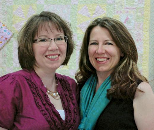 Joanie Holton and Melanie Greseth -- Fons & Porter Contributor