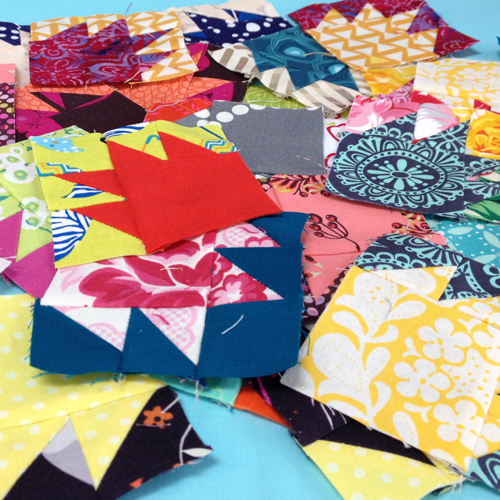 Group The Bitty Blocks of 2015: Free Quilt Block Patterns