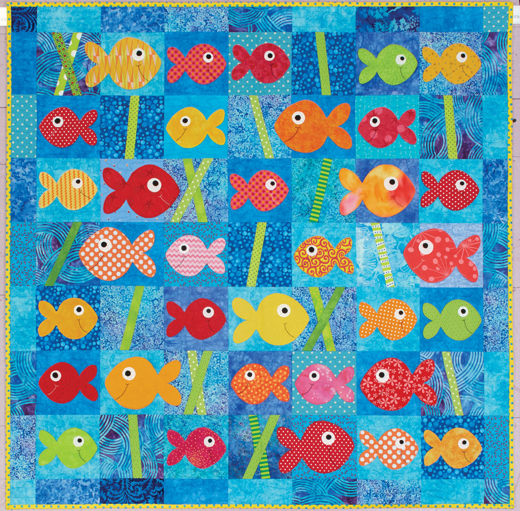 HappyQuilts Sea 10 Happy Quilts for Kids