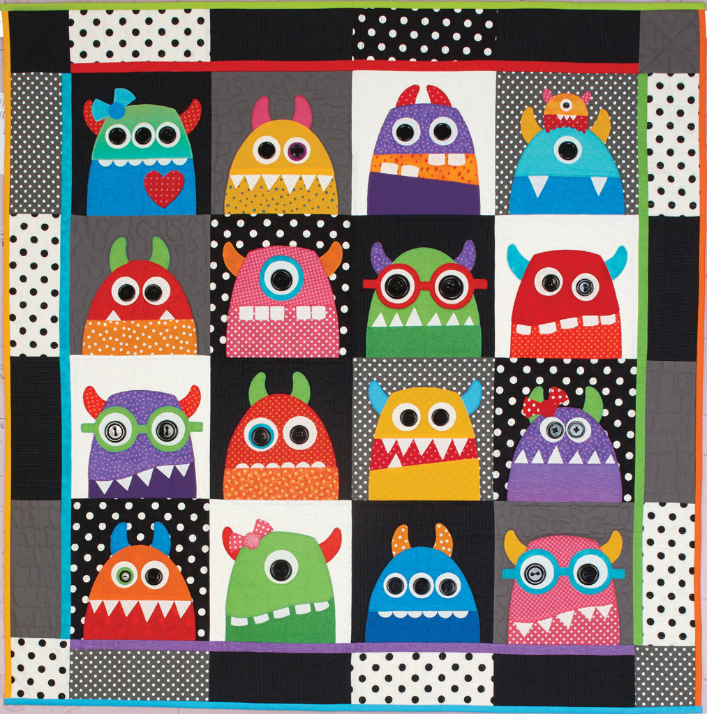 HappyQuilts WildThings 10 Happy Quilts for Kids