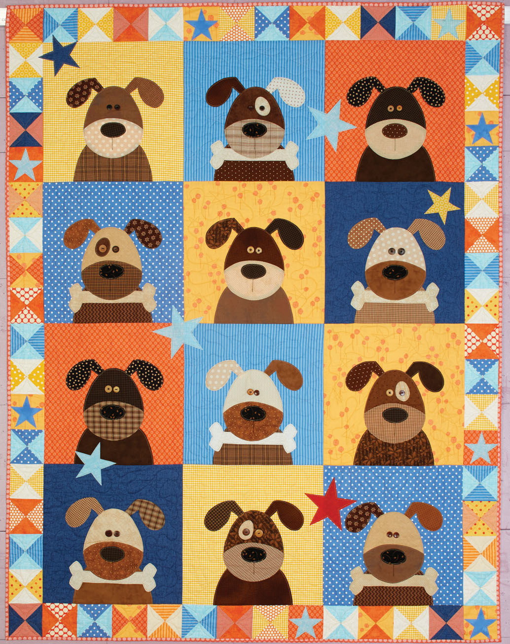 HappyQuilts dog 10 Happy Quilts for Kids