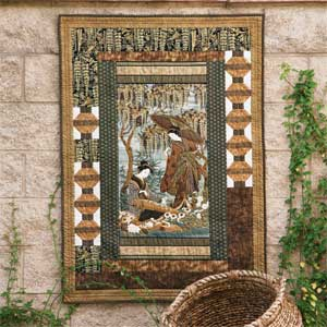 Harmony: Elegant Asian Panel Wall Quilt Pattern - The Quilting Company : quilted panel - Adamdwight.com