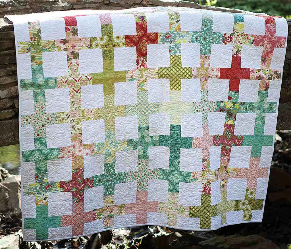 Hello, Garden Quilt Pattern
