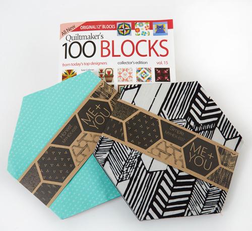Hoffman Quiltmaker's 100 Blocks Vol. 15 Blog Tour: Day 1