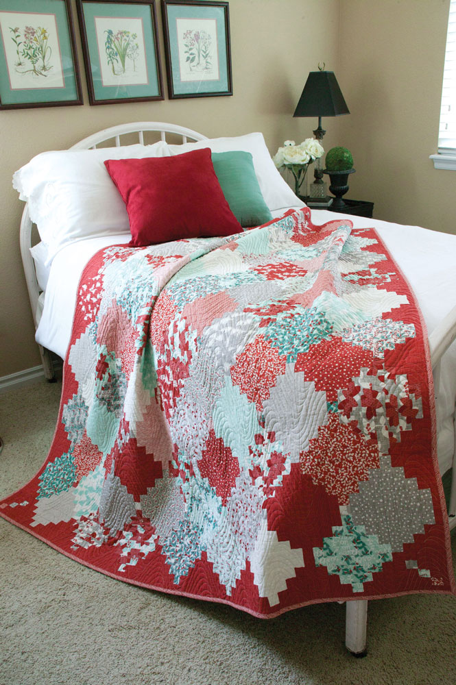 Holiday Lanterns Christmas Quilt Pattern