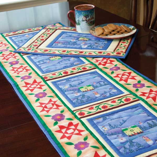 Friday Free Quilt Patterns Home For The Holidays Table Runner