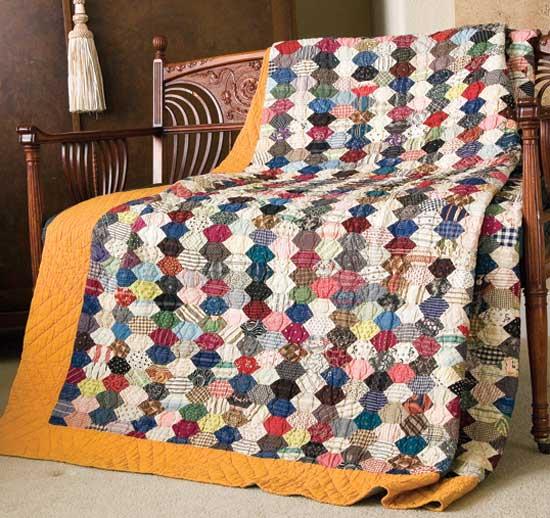 Friday Free Quilt Patterns: Honeycomb | McCall's Quilting Blog ... : honeycomb quilt - Adamdwight.com